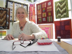 YesterFest quilting
